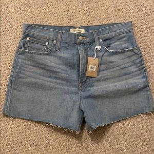 MADEWELL the perfect jean short size 31